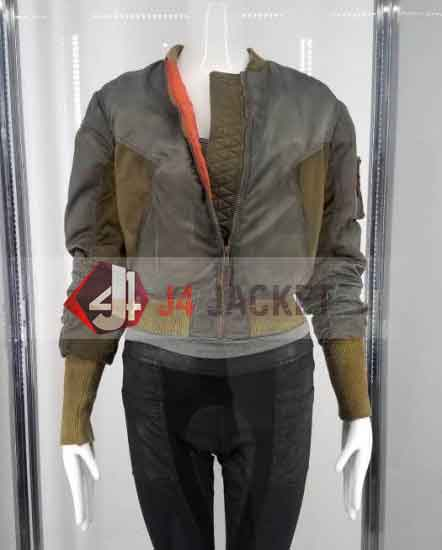 Ghost In The Shell Scarlett Johansson Jacket Major Motoko Jacket-0