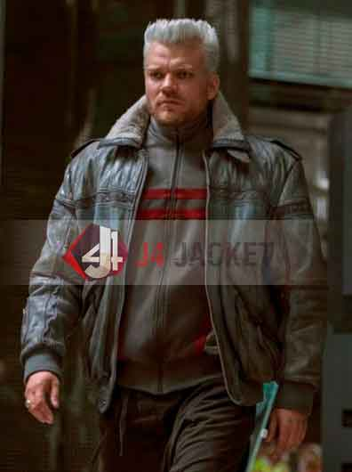 Ghost In The Shell Batou Leather Jacket-0