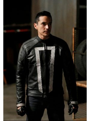 Agents Of Shield Ghost Rider Jacket-0
