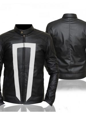 Gabriel Luna Ghost Rider Black Leather Jacket