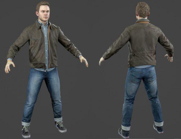 Quantum Break Shawn Ashmore Jacket-0