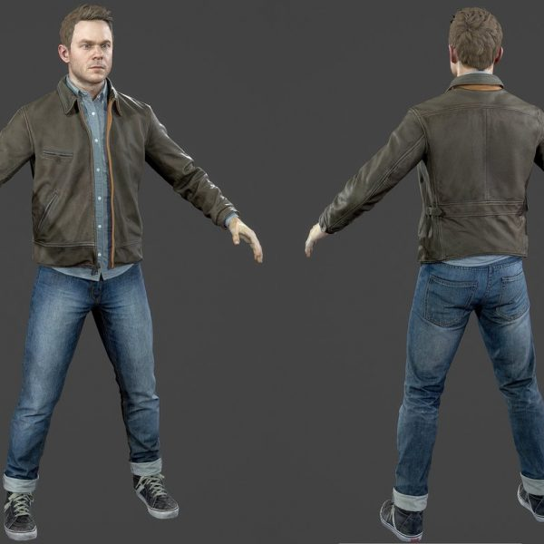 Quantum Break Shawn Ashmore Jacket-0