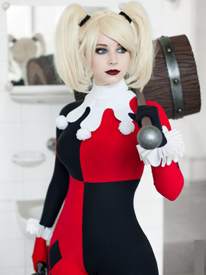 Harley Quinn Costume of Batman and Harley Quinn 2017-0