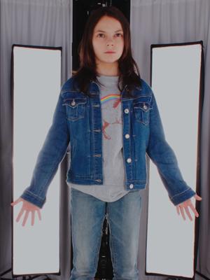 Laura Blue Denim Jacket