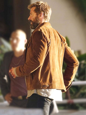 Brown Suede Leather Logan Jacket