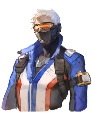 "Overwatch Game Soldier 76 John ""Jack"" Morrison Costume-0"