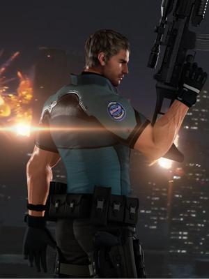 Resident Evil Chris Redfield Slim-fit Jacket