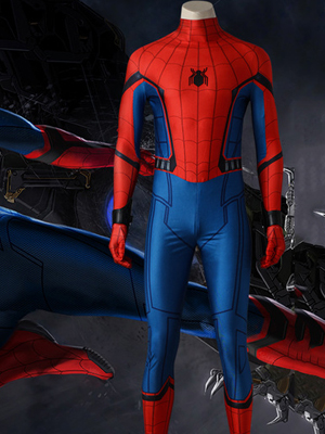 Spider Man Red and Blue Jacket