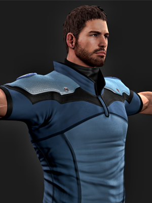 Resident Evil Chris Redfield Costume-0