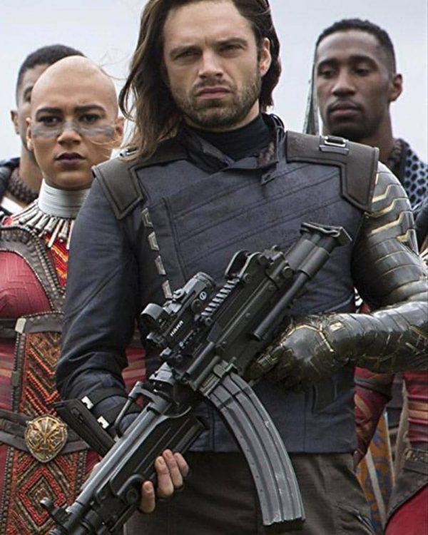 Avengers Infinity War Bucky Barnes Jacket-0