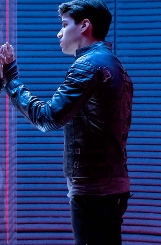 Seg El Leather Jacket