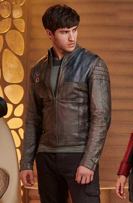 Cameron Cuffe Seg El Krypton Leather Jacket-0