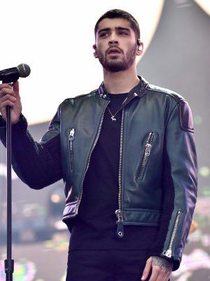 Zayn Malik Wango Tango Concert Leather Jacket-0