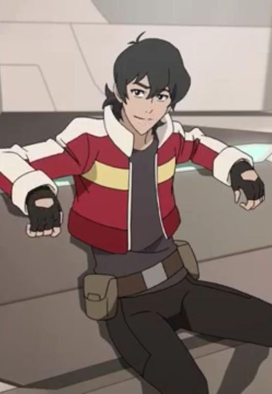 Voltron Keith Cosplay Red Jacket-5242