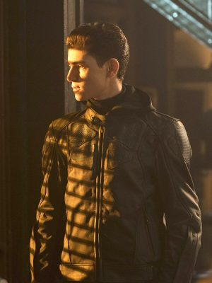 Gotham David Mazouz batman jacket-0