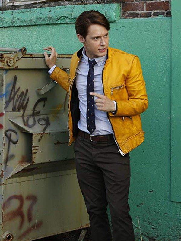 Dirk Gently Holistic Detective Yellow Jacket-5287