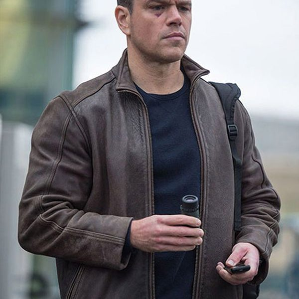 Jason Bourne Brown Jacket-5279