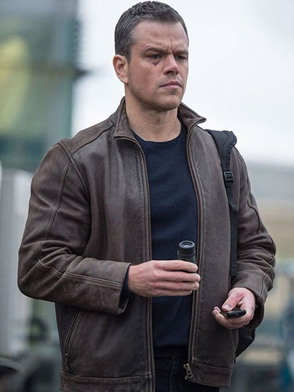 Jason Bourne Brown Jacket-5279