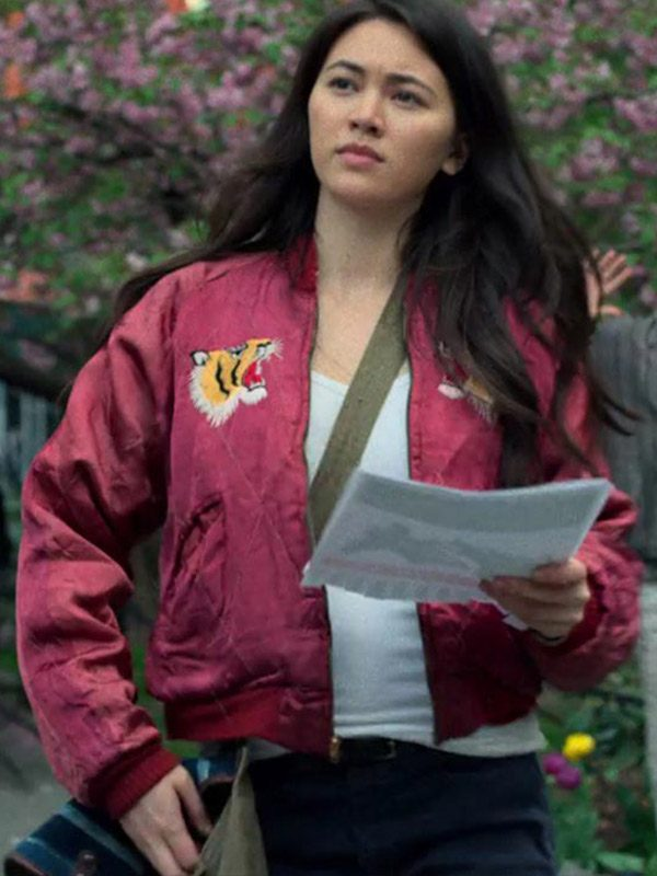Iron Fist Colleen Wing Red Bomber Jacket-5272