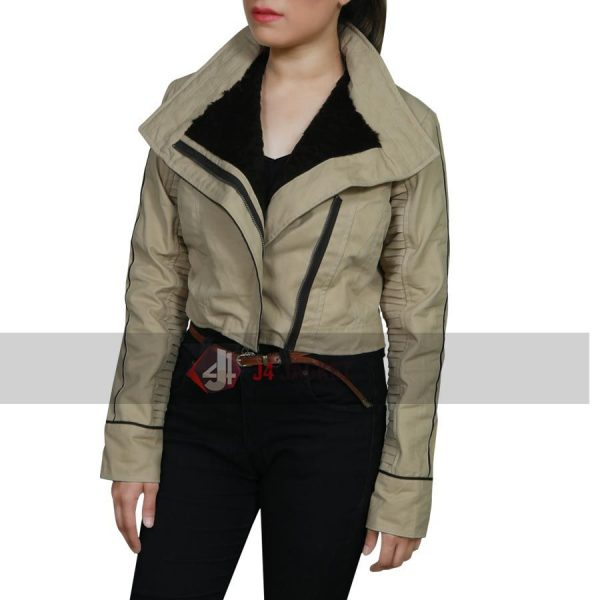Emila Clark Star Wars Jacket