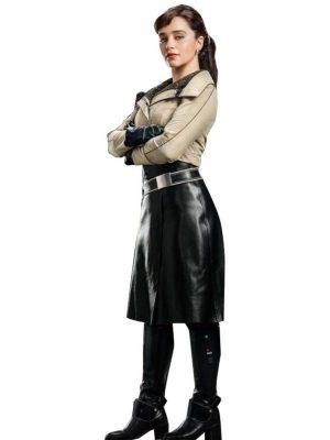 Solo A Star Wars Story Emilia Clarke Jacket-0