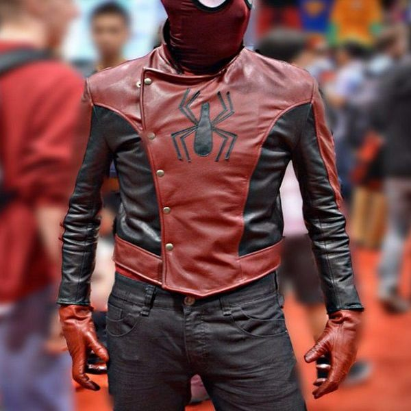 Peter Parker Spiderman the Last Stand Jacket-0