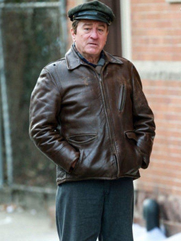 The Irishman Frank Sheeran Leather Jacket