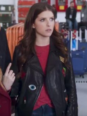 Anna Kendrick Pitch Perfect 3 Black Jacket