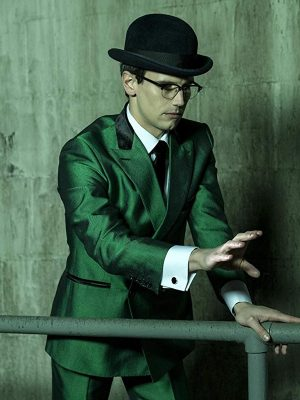Cory Michael Smith Gotham Green Blazer