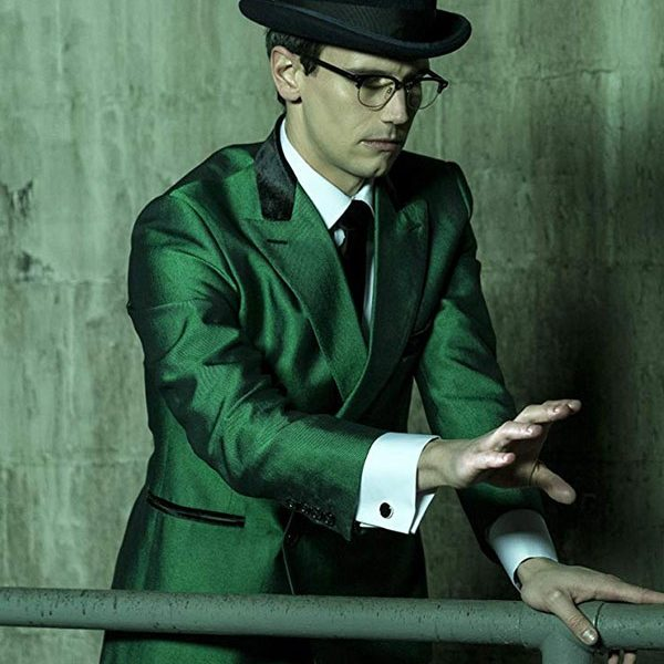 Cory Michael Smith Gotham Green Blazer