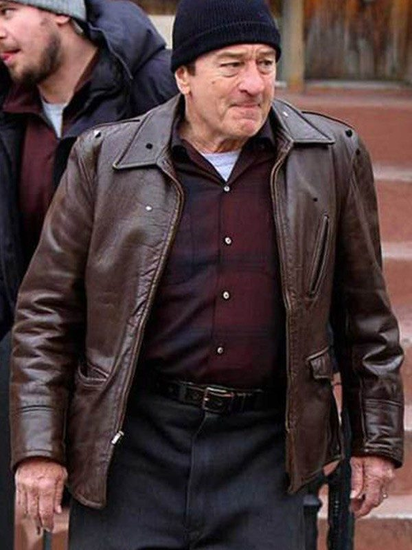 The Irishman Frank Sheeran Brown Jacket