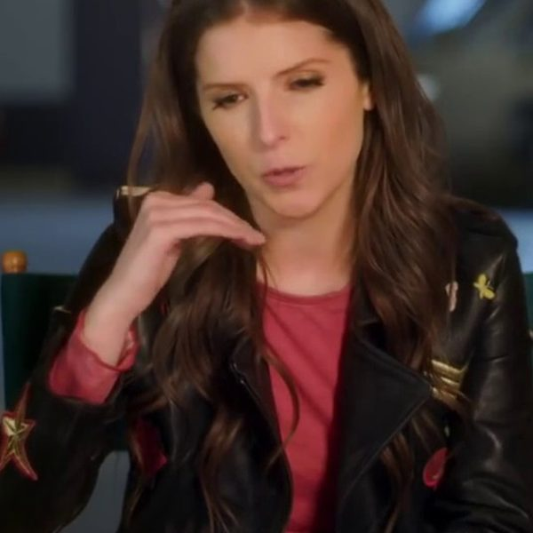 Anna Kendrick Pitch Perfect 3 Leather Jacket