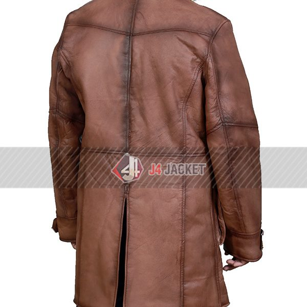 Cafe Racer Brown Jacket for Men