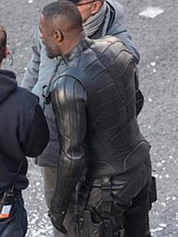 Idris Elba Hobbs and Shaw Jacket
