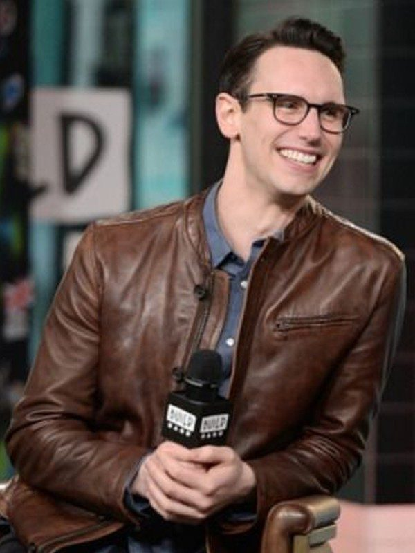 Cory Michael Smith Brown Jacket