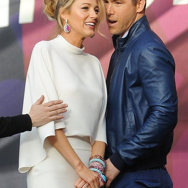 Ryan Reynolds and Blake Lively Blue Jacket