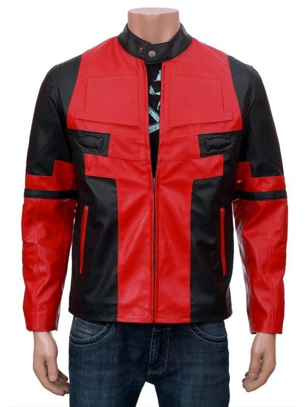 Deadpool Leather Jacket-0