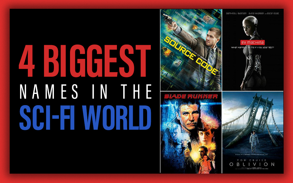 4 Biggest Names in the Sci-Fi World