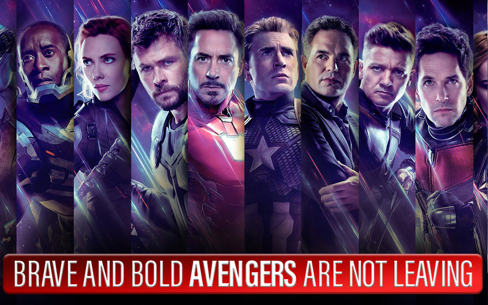 Brave and Bold, Avengers are not Leaving