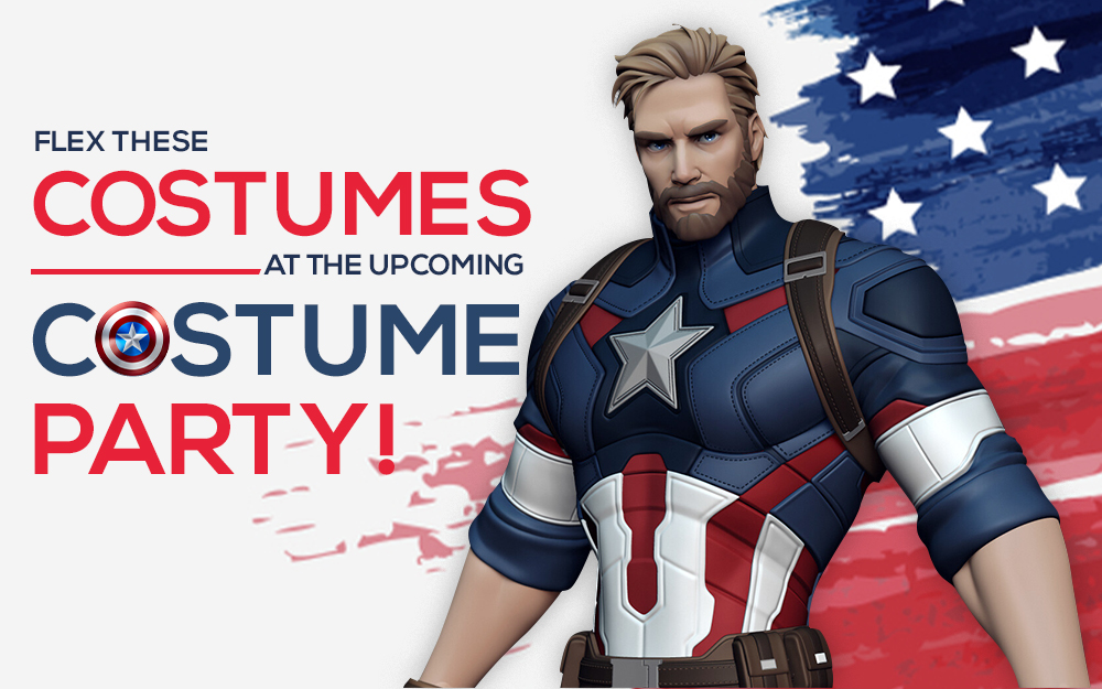 Flex These Costumes At The Upcoming Costume Party!