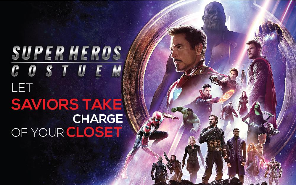 Superhero Costumes Let Saviors Take Charge Of Your Closet