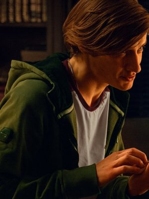 Noc Zycia All My Friends are Dead Antoni Królikowski Green Jacket