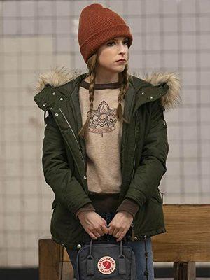 Darby Carter Love Life Green Parka Jacket