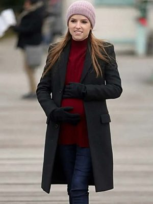 Anna Kendrick Black Coat