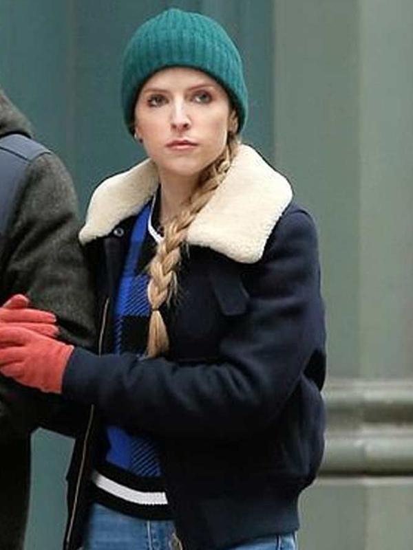 Anna Kendrick Love Life Black Jacket