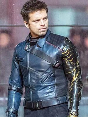The Falcon and the Winter Soldier Sebastian Stan Jacket
