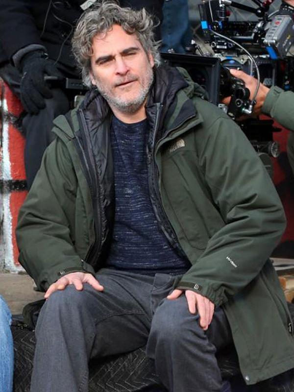 Joaquin Phoenix Green Jacket