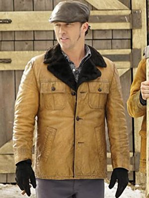 Dodd Gerhardt Fargo Shearling Collar Jacket