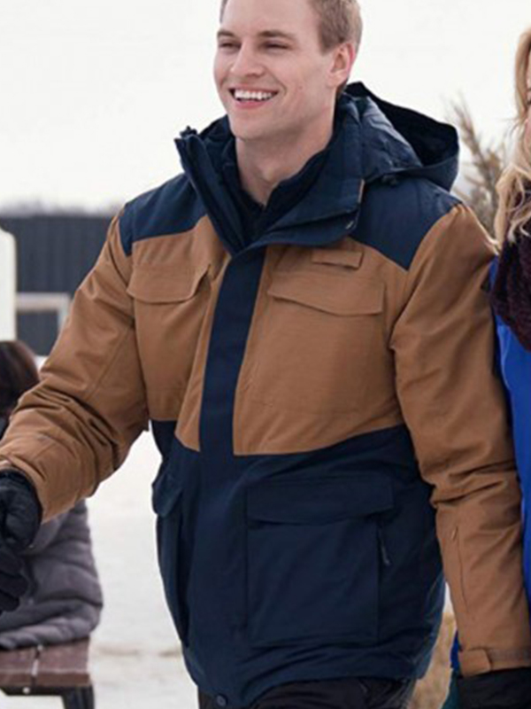 Nate Perry Amazing Winter Romance Hooded Jacket
