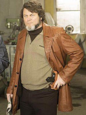Fargo Karl Weathers Brown Blazer